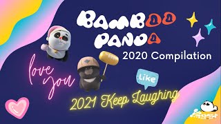 【Bamboo Panda ❤】2020 Bamboo Panda Official Compilation | Chinese Short Animation | Funny | 熊猫班卜
