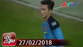 Bùi Tiến Dũng gây sốc ở cuộc bầu chọn thủ môn hay nhất Đông Nam Á | CHUYỆN 22 GIỜ - 27/02/2018
