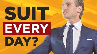 Wear A Suit EVERY Day? POWER & AUTHORITY Uniforms & WHY They Matter | RMRS Style Videos