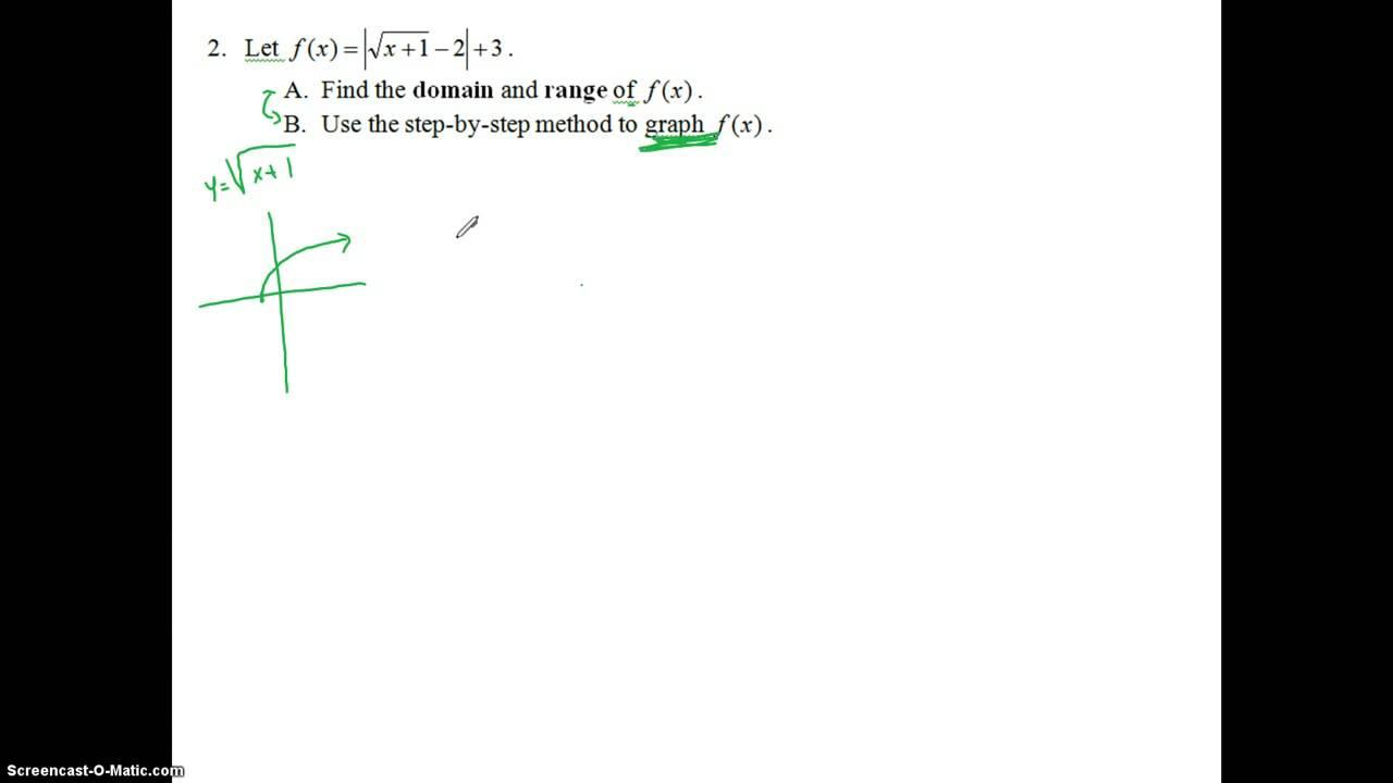 Pre-Calculus First Semester Final Study Guide Part 1