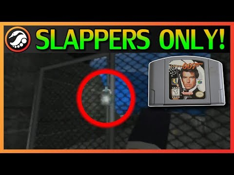 Can you beat GoldenEye without 𝕾𝖍𝖔𝖔𝖙𝖎𝖓𝖌?