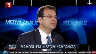 TV5'te canlı yayın konuğuyum.