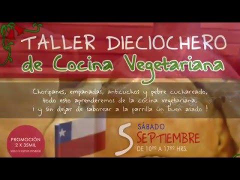 Kombucha y Taller Dieciochero de Cocina Veg