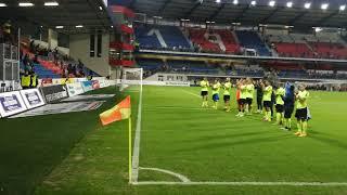 MOL Cup: Viktoria Plzeň - SFC Opava - děkovačka