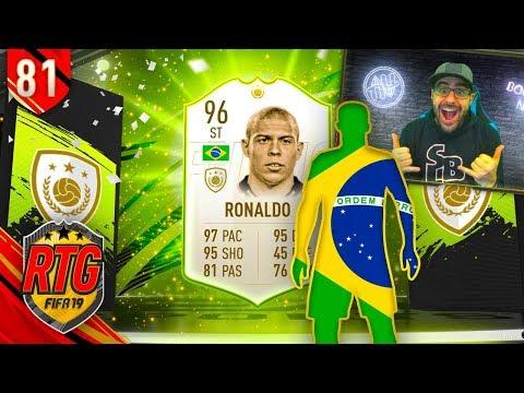 OMG YES! I GOT 96 RONALDO! - FIFA 19 Ultimate Team RTG #81