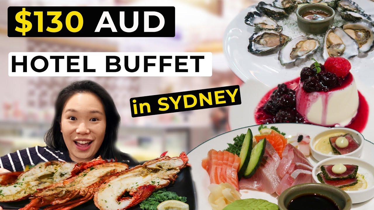 $130 ALL YOU CAN EAT LUXURY HOTEL BUFFET at LANGHAM SYDNEY!   Seafood Feast Sydney Vlog ( 悉尼美食海鲜自助餐)