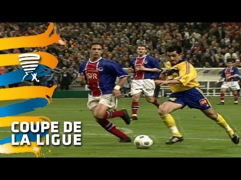 FC Gueugnon - Paris Saint-Germain (2-0) - Finale Coupe de la Ligue 2000 - Résumé