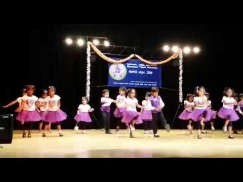 Kids performing dance on Sha la la song...