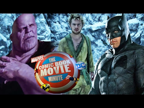 AVENGERS INFINITY WAR tease, BATMAN director, IRON FIST & more - Comic Book Movie Minute (Feb 13th)