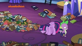 Spike broke twilight heart MLP season 8 episode 24