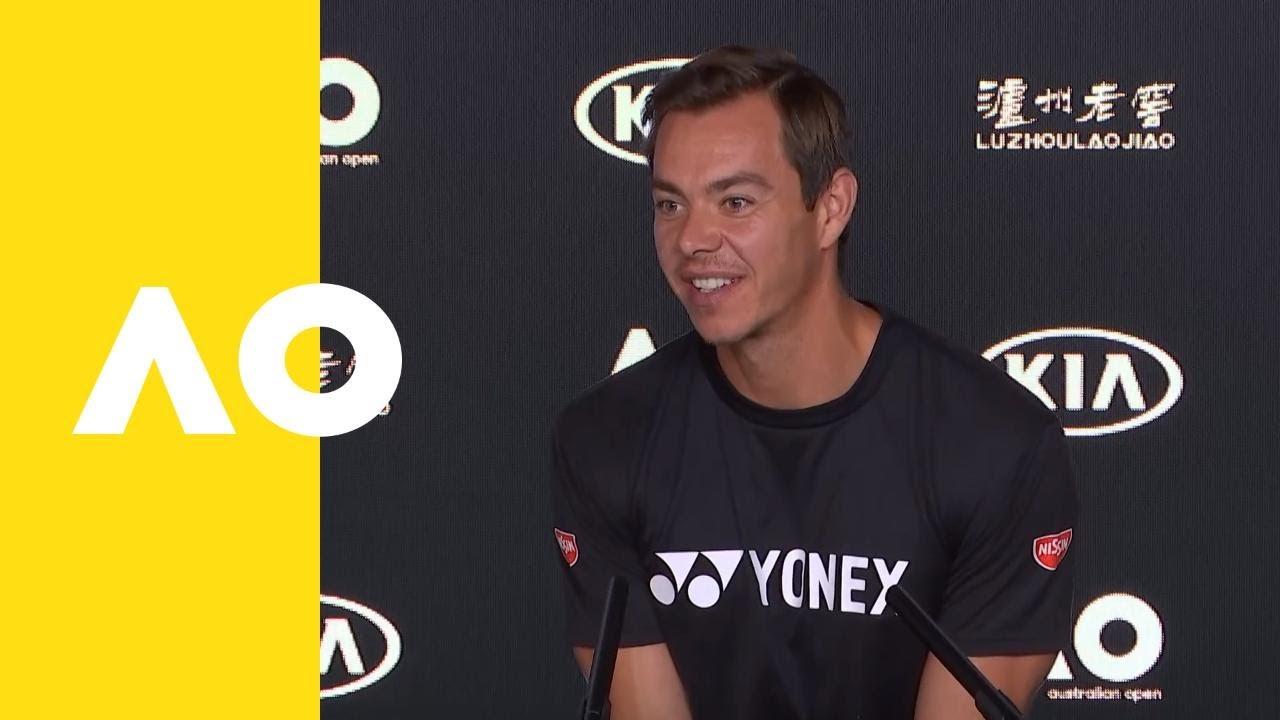 Sascha Bajin, coach of Naomi Osaka, press conference (SF) | Australian Open 2019