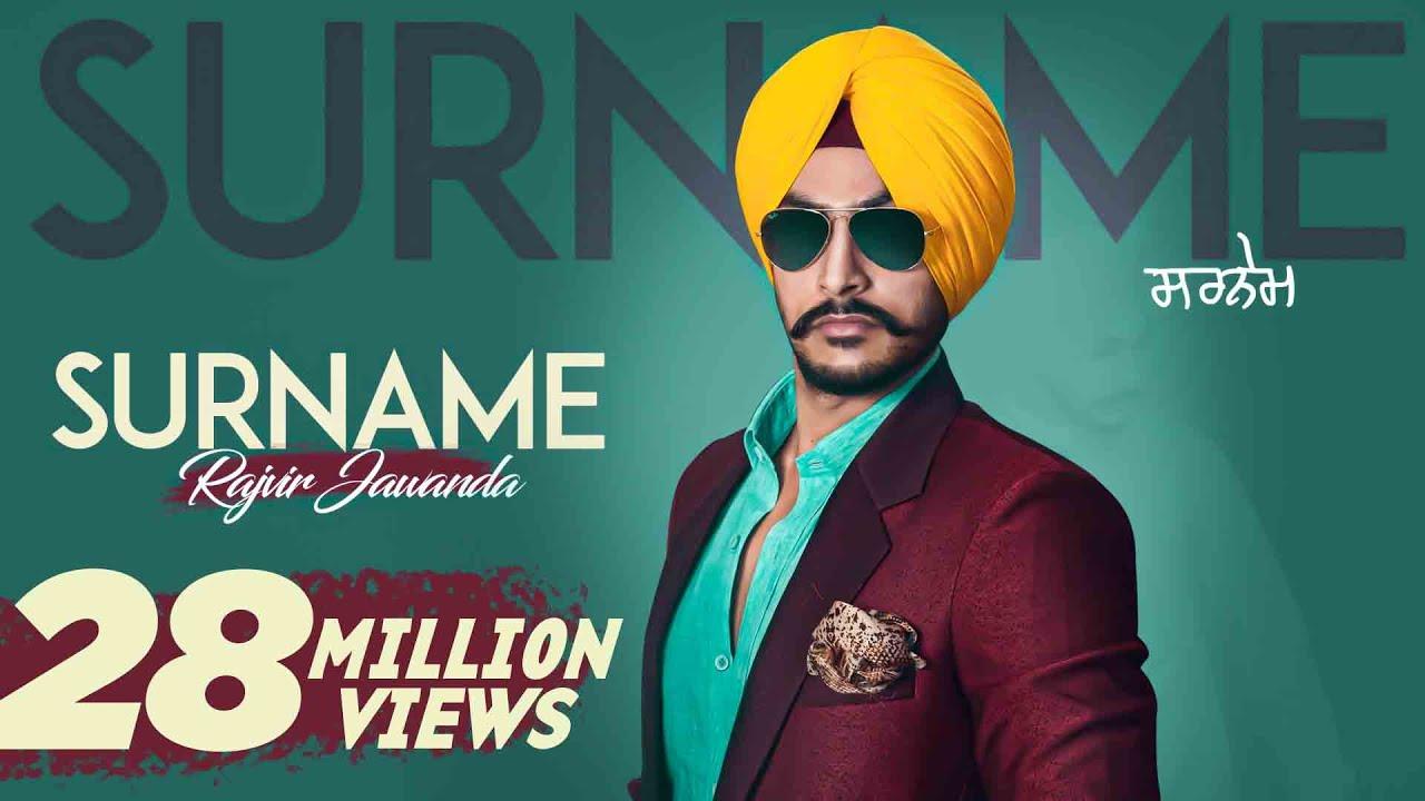 Surname |(Full HD)| Rajvir Jawanda Ft  MixSingh| New Punjabi Songs 2016 |  Latest Punjabi Songs 2016