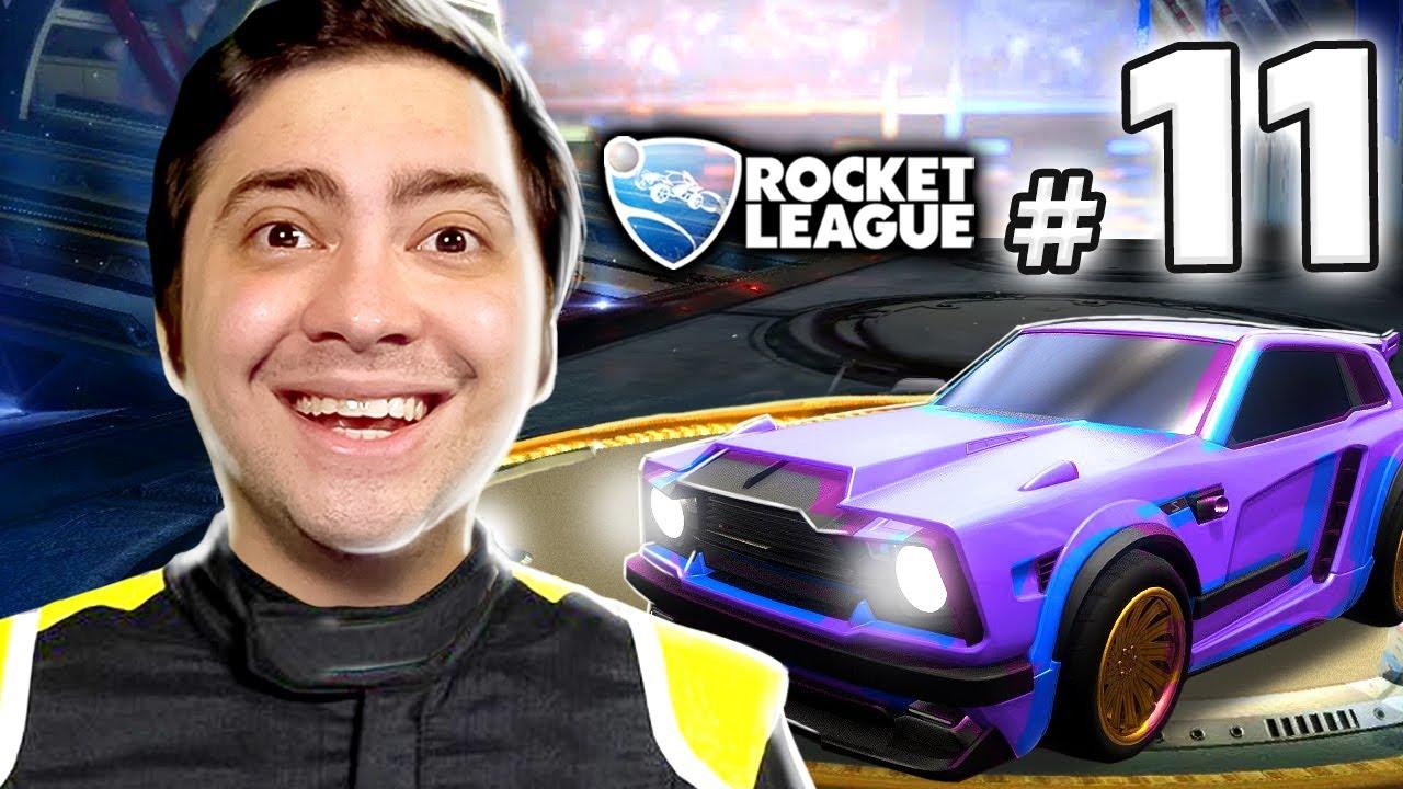 alanzoka jogando Rocket League - #11