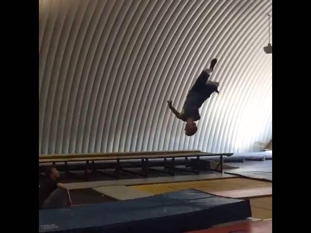 Gymnastics Full Attempt