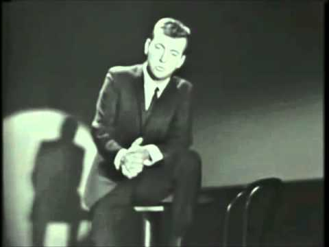 IRVING BERLIN SONG   All By Myself - Bobby Darin live 1962
