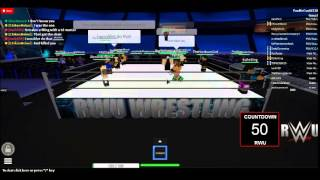 Roblox RWU, My frist time in royal rumble.