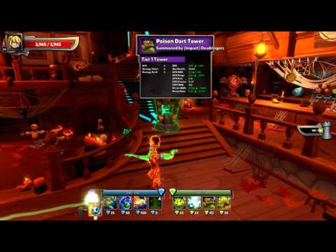 Dungeon Defenders 2 - Frosty Proton EV2 Build