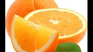 كيفية معرفة عدد فصوص البرتقال من القشرة