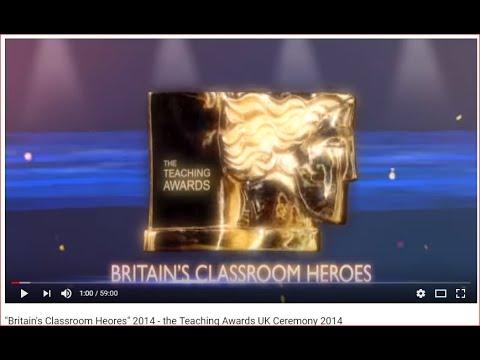 The Teaching Awards UK Ceremony 2014