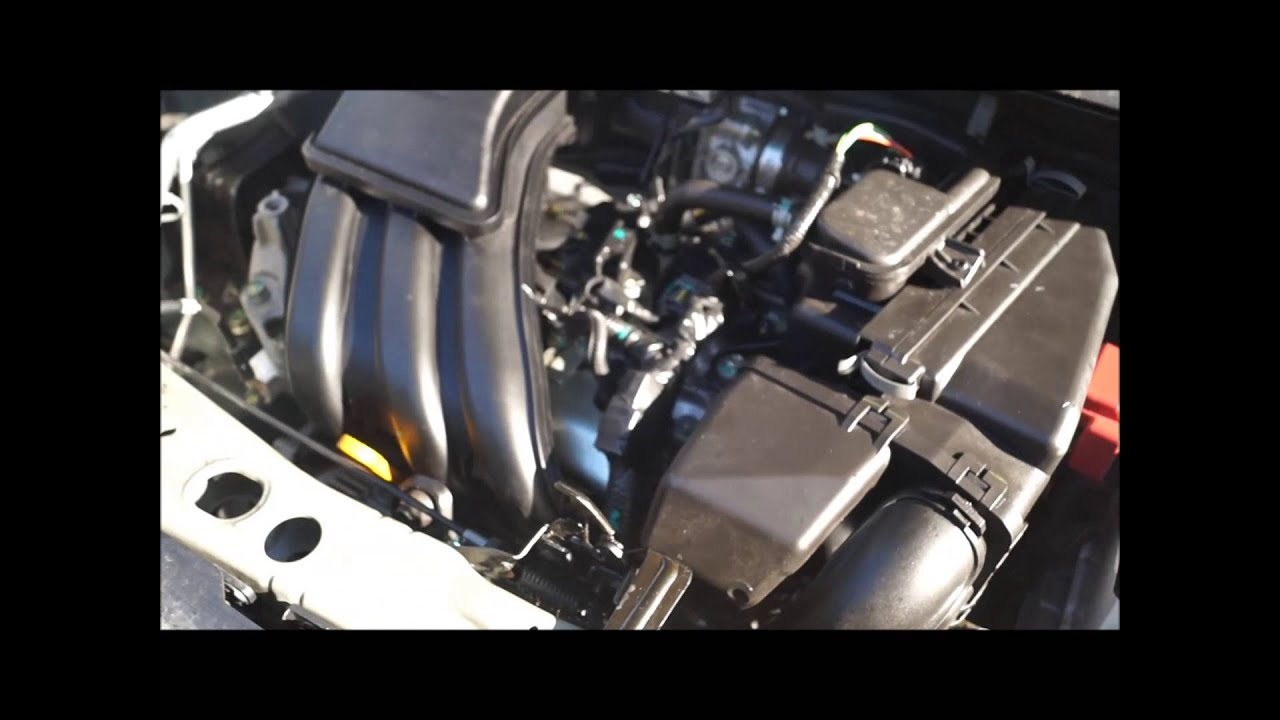 2014 NISSAN MICRA 1.2 PETROL BARE BLOCK ENGINE HR12 - YouTube