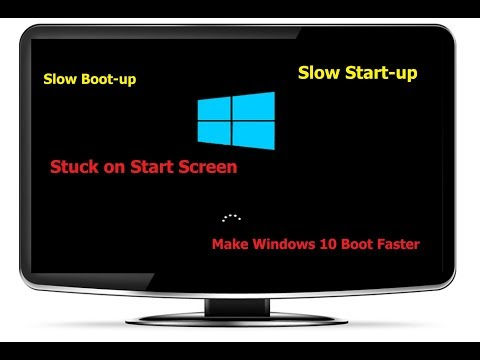 How to Fix Windows 10 Slow Bootup Startup (100% Works) - 동영상