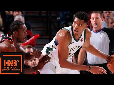 Milwaukee Bucks vs Portland Trail Blazers Full Game Highlights | 11.06.2018, NBA Season
