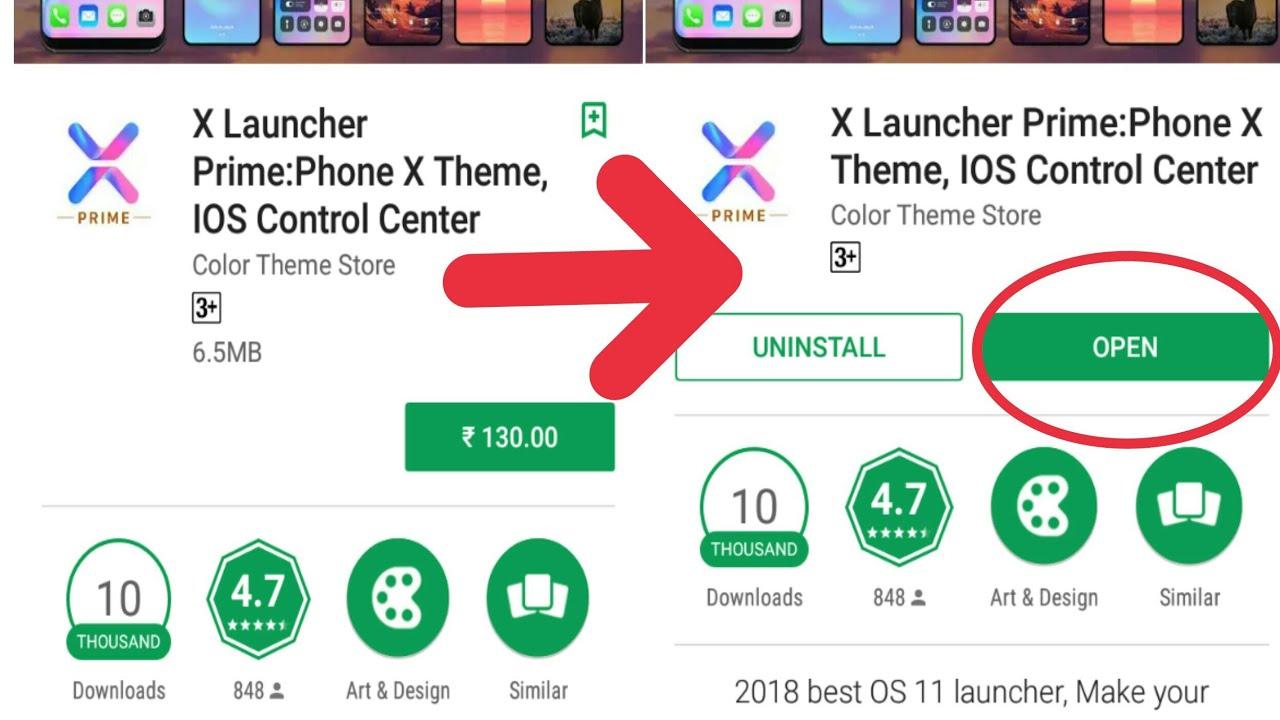 Iphone x launcher pro apk uptodown   iPhone X Launcher Apk