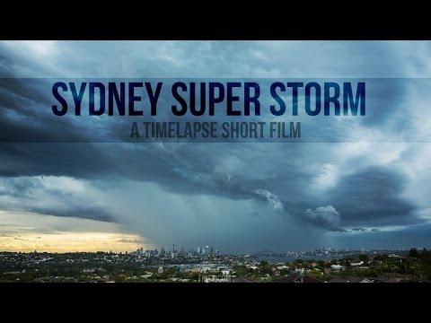 Sydney Super Storm - A timelapse short film - Tjoez.com