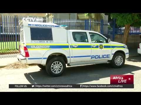 Security cameras show South Africa police shoot unarmed man