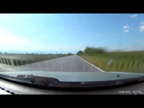 Eken H9 timelapse Ptolemaida - Bitola (old road) in 5 minutes (Greece)