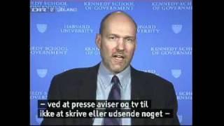 Stephen Walt (The Israel Lobby) interview on Danish TV about Charles Freeman