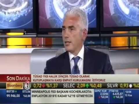 TÜSİAD Başkanı Haluk Dinçer'in Gündeme İlişkin Değerlendirmeleri – Bloomberg HT – 13 Kasım 2014