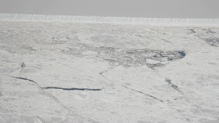 Student Captures First Glimpse Of Trillion Ton Iceberg