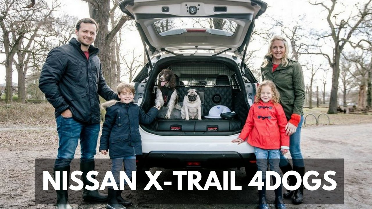 nice cars nissan x trail 4dogs concept car for family youtube. Black Bedroom Furniture Sets. Home Design Ideas