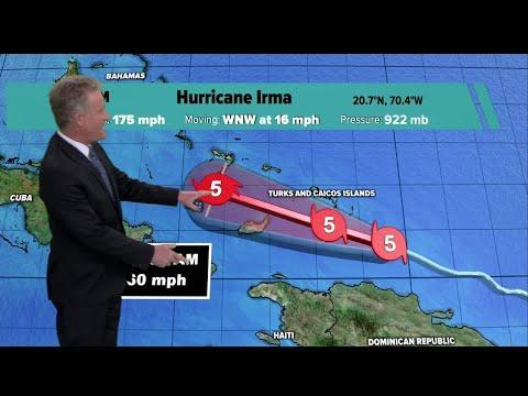 Hurricane Irma update - 4 p.m. Thursday