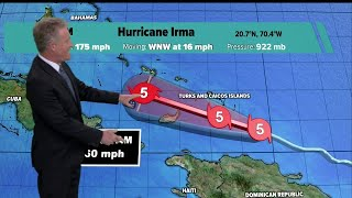 Hurricane Irma update - 4 p.m. Thursday
