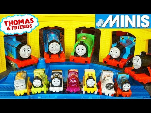 2017 THOMAS MINIS WAVE 4 BLIND SURPRISE BAGS NEW TANK ENGINES SUPERSTATION TRACKMASTER TOO!