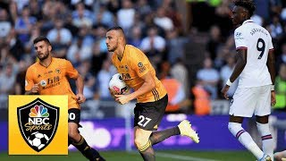 Tammy Abraham own goal trims Chelsea lead v. Wolves | Premier League | NBC Sports