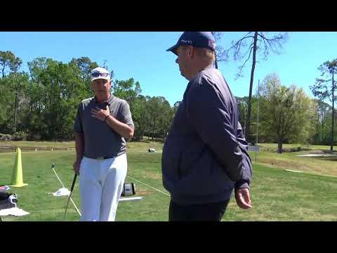 PGA tour Analyst Richie Hunt at the Be Better Golf School, THE RED ZONE
