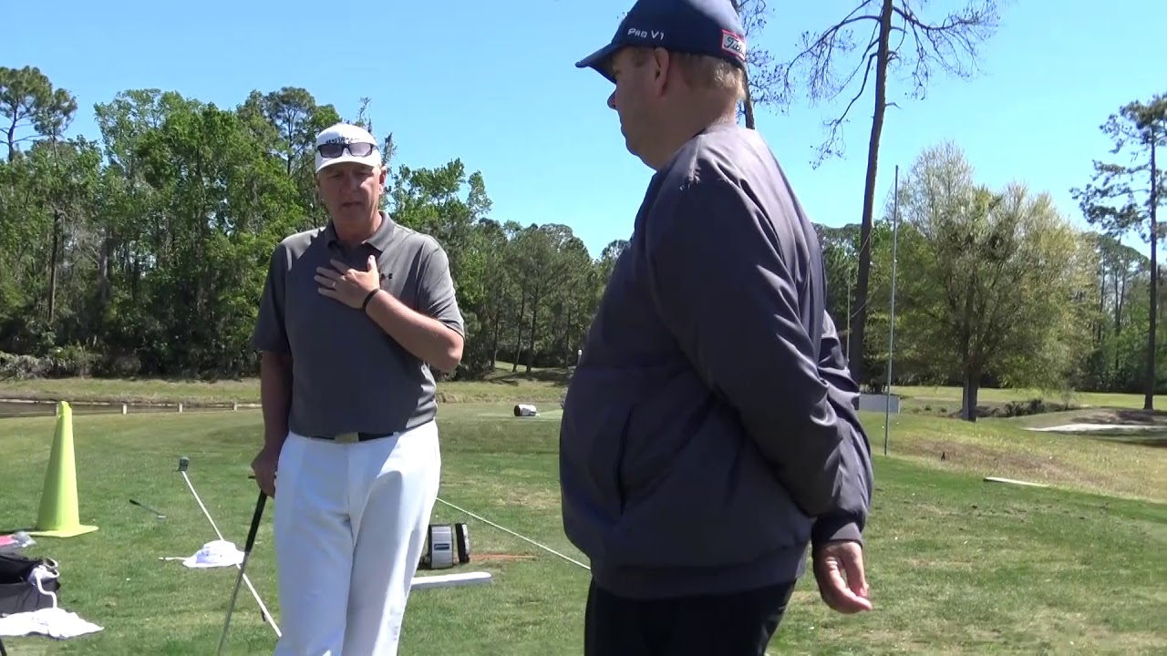 Pga Tour Analyst Richie Hunt At The Be Better Golf School The Red