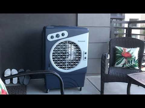 Honeywell 1540-2471 CFM Outdoor Portable Evaporative Cooler Review