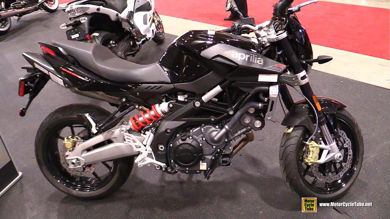 2016 Aprilia Shiver 750 - Walkaround - 2016 Toronto Motorcycle Show ...
