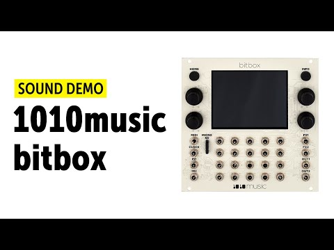 1010music bitbox, fxbox, toolbox Modules (no talking) Sound Demo