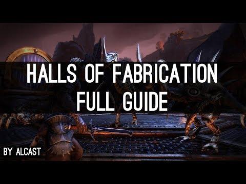 Guide Halls of Fabrication (vet) - Morrowind ESO