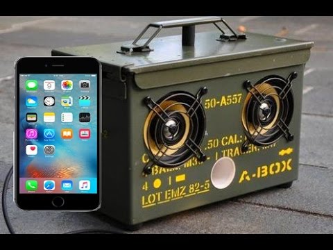how to make speakers for your phone