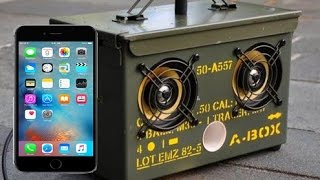 how to make mobile speakers for your phone (version englais)