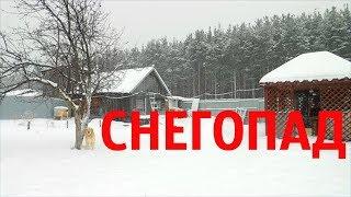 Война со снегом в Деревне // Хата С Краю
