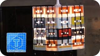 Kassetten-Lampe | Bierflaschen-Garderobe | Weinkisten-Regal | Sessel aus Einkaufswagen | ToolTown