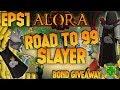 Alora Rsps | Road To 99 Slayer! + Bond Giveaway Episode 1!