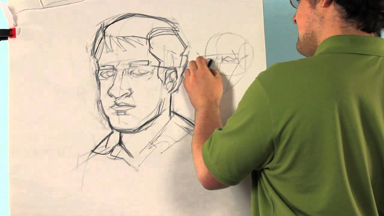 how to draw a self portrait for middle school drawing tips youtube